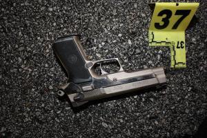 Gun Evidence Photo