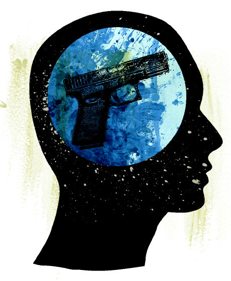 Gun-in-brain