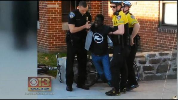 Freddie Gray arrest photo